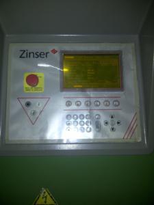 LCD Panel Ring Spinning Zinser 321