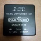 DC/DC Converter ECW24-0515